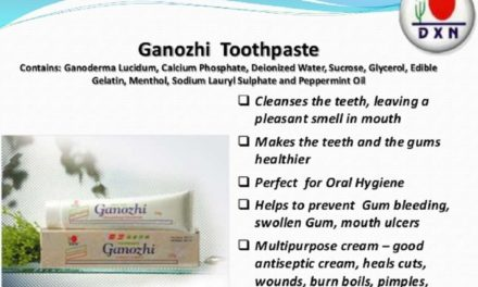 DXN Ganozhi Toothpaste Benefits Slide