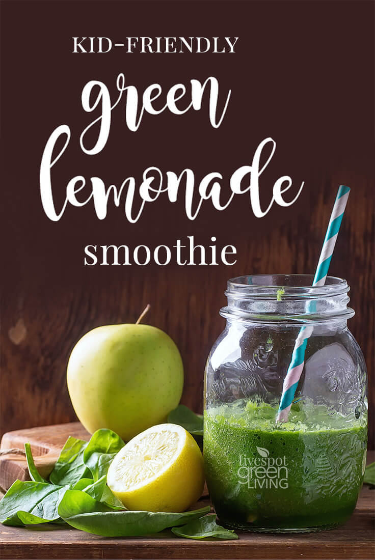 Green Lemonade Smoothie Recipe For Family