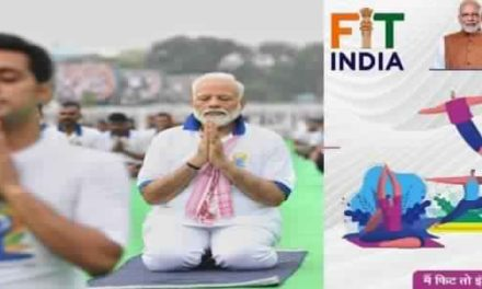 PM Modi Launched Nation-Wide Fit India Movement