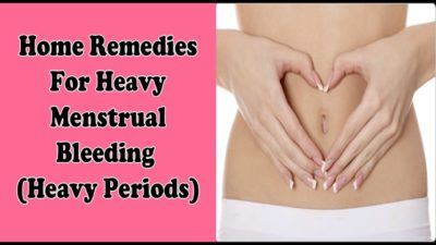 Natural remedies for heavy periods