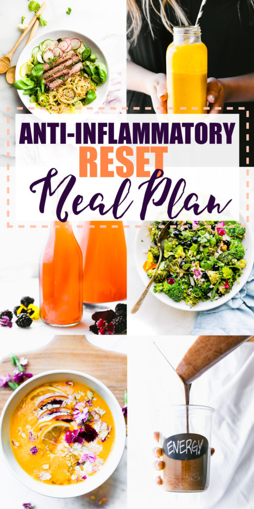 3 Day Meal Plan with Anti-Inflammatory Recipes