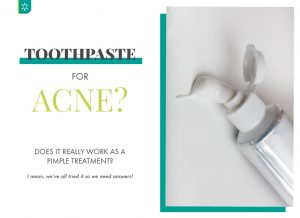 Use Toothpaste for Acne