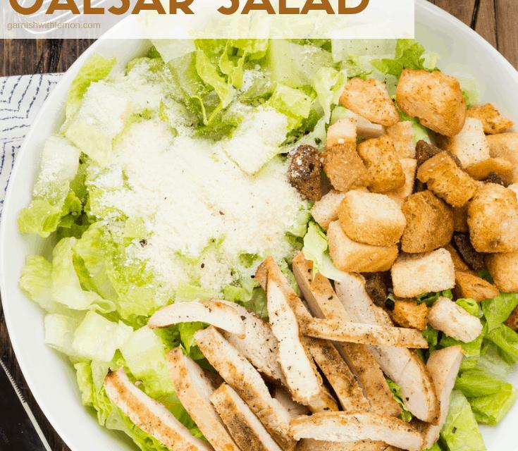 What is Chicken Caesar Salad?