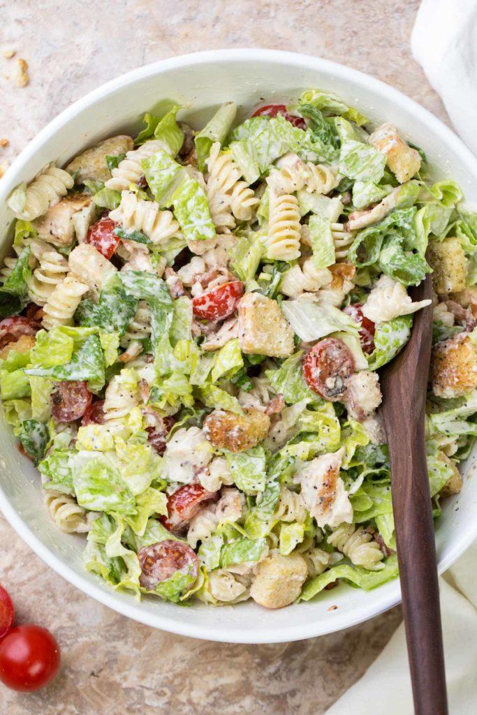 How to Make Chicken Caesar Salad?