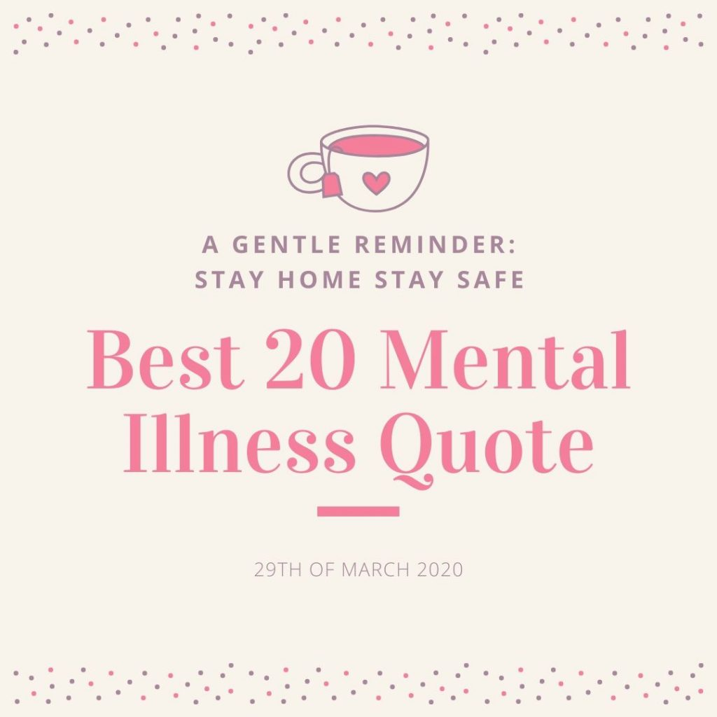 BEST 20 Mental Illness Quote
