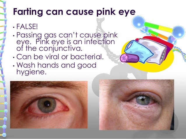 Can You Get Pink Eye From A Fart