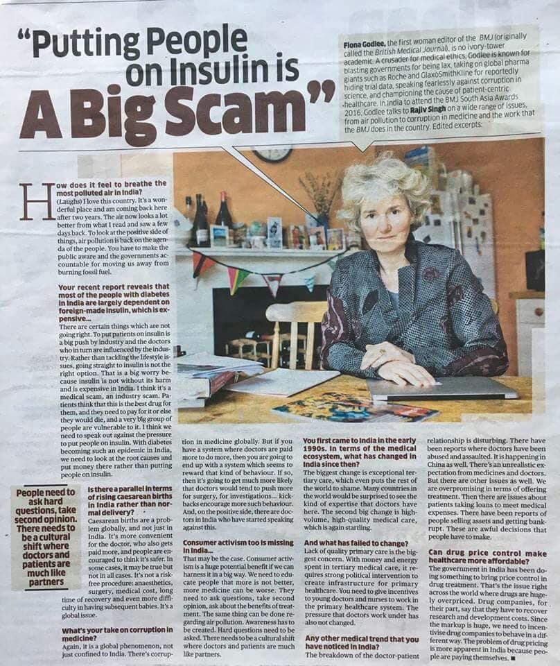 Putting People On Insulin is a Big Scam