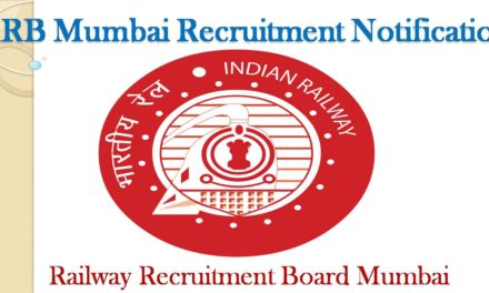 Job RRB Mumbai Recruitment 2019 – 2020 NTPC CBT Details Inside