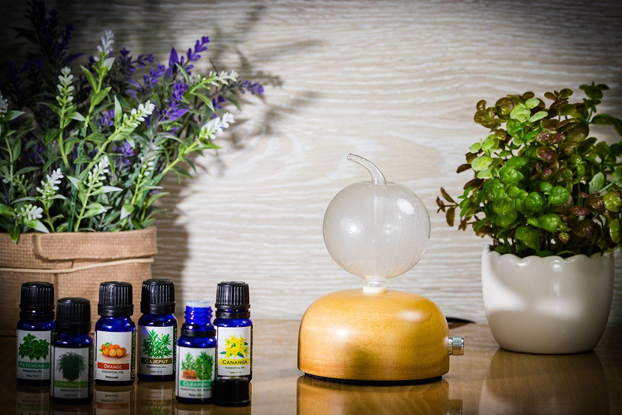 Unplug Meditation Aromatherapy Diffuser - Healing Aromatherapy Scents