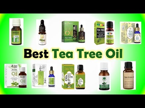 Best Tea Tree Oil in India with Price 2019   Essential Oil For Face, Skin, Hair, Acne Care