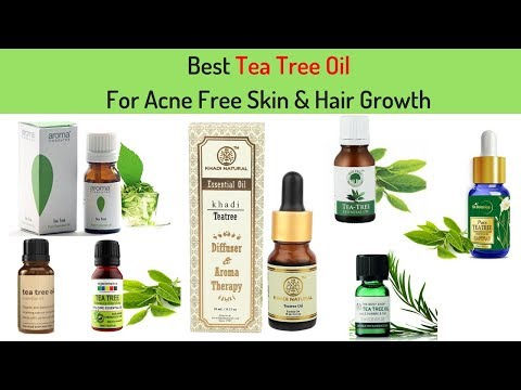 Best Tea Tree Oil for Acne Free Skin & Hair Growth I In India With Price  I Top Tea Tree  oil Brand