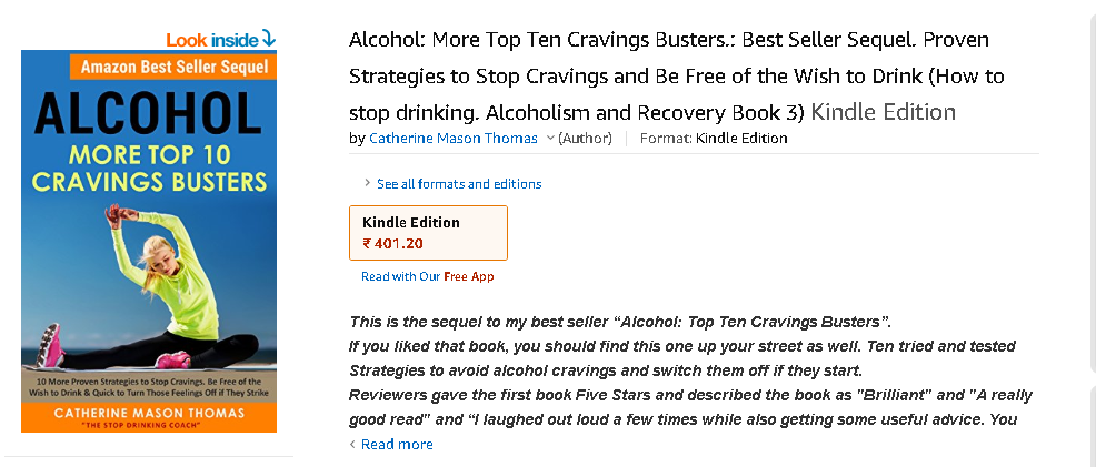 Alcohol More Top 10 Cravings Buster
