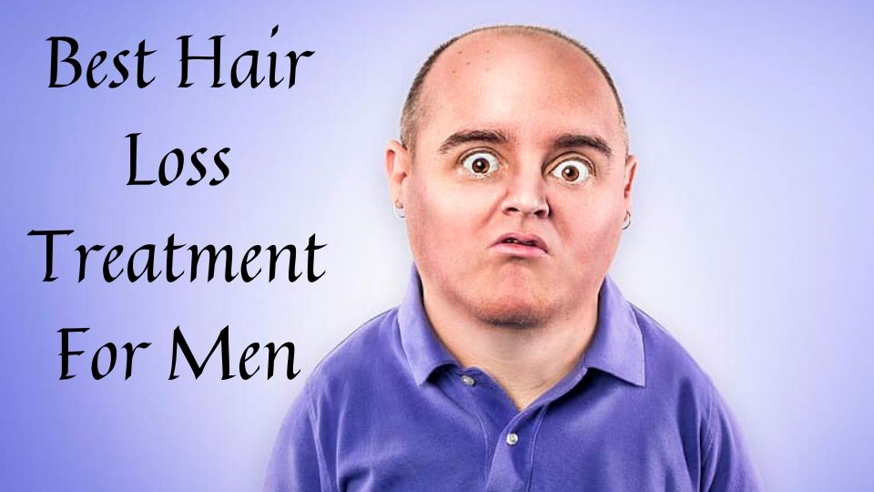 Top 5 Best Hair Loss Treatment For Men - Bald Old Man