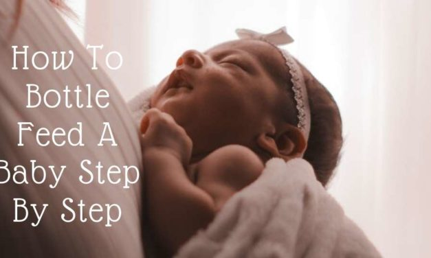 How To Bottle Feed A Baby Step By Step