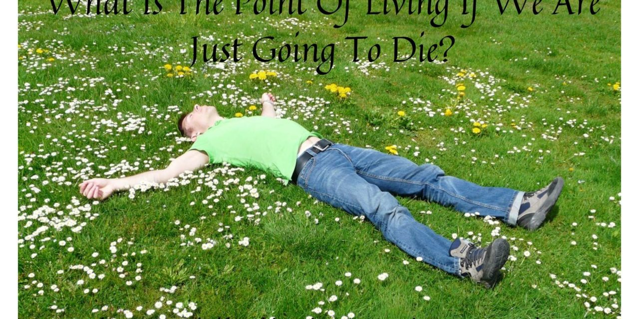 What Is The Point Of Living If We Are Just Going To Die?