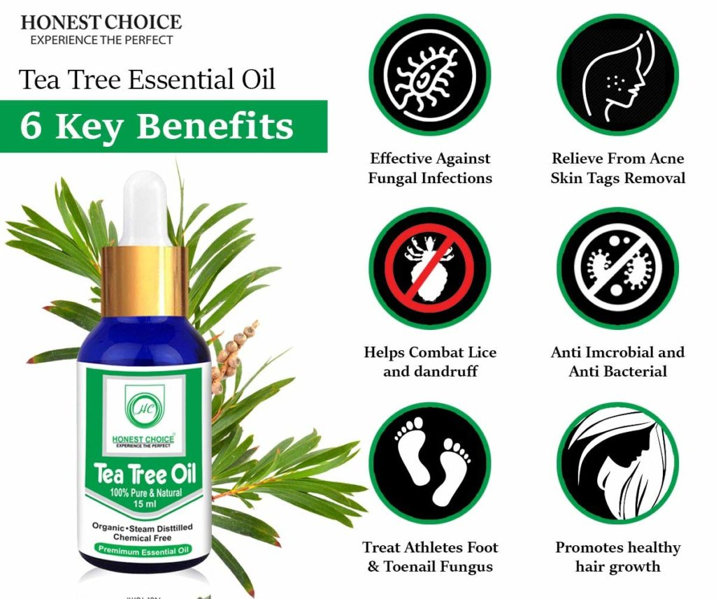 HONEST CHOICE Tea Tree Essential Oil