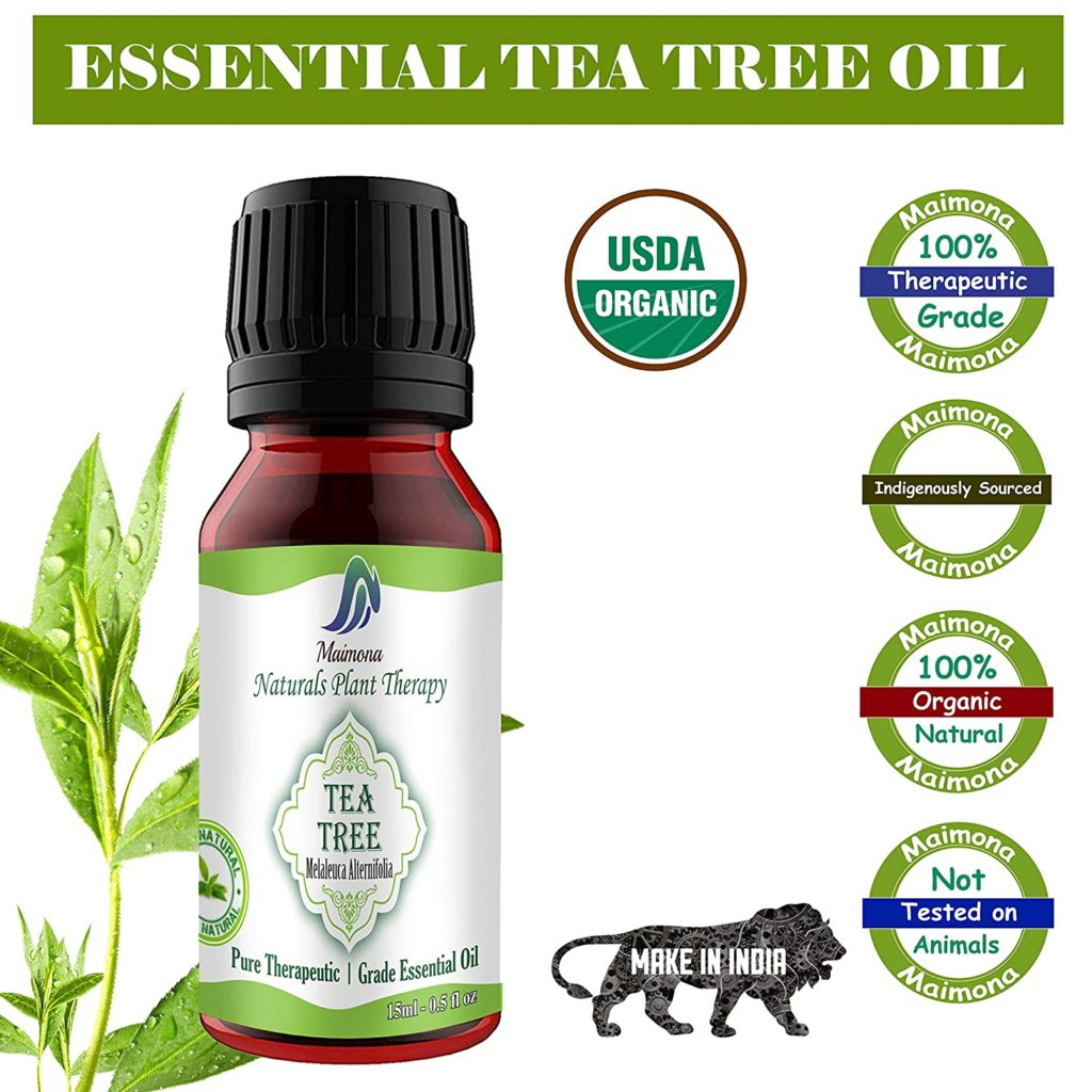 Maimona Natural Pure Tea Tree Essential Oil