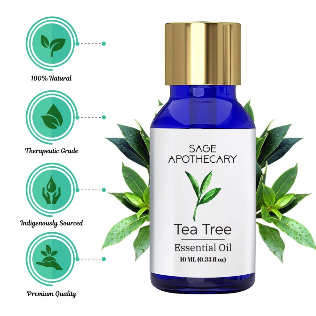 Sage Apothecary Tea Tree Essential Oil