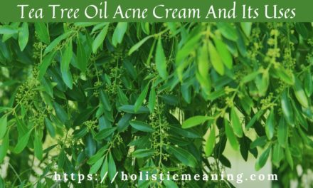 Tea Tree Oil Acne Cream And Its Uses