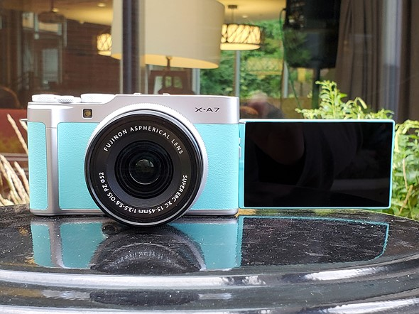 FUJI FILM CAMERA X A7 UNBOXING & OVERVIEW