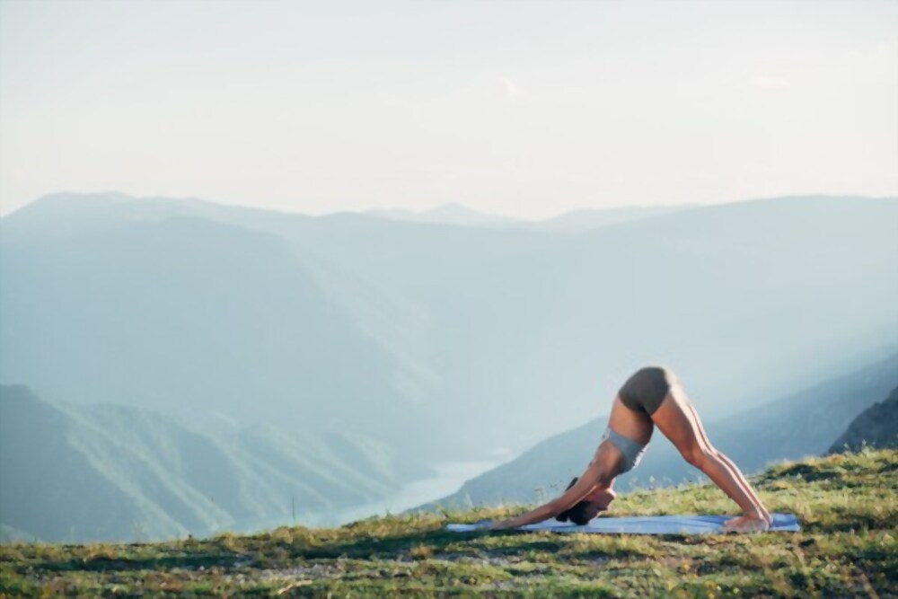 How To Cure Thyroid By Yoga - Downward Facing Dog Pose