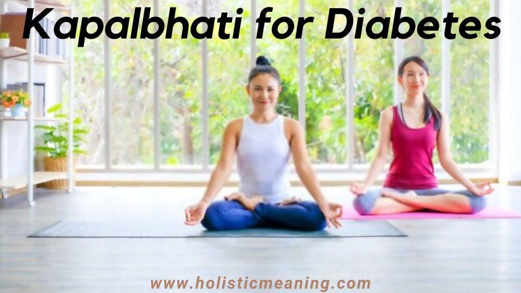 Kapalbhati for Diabetes
