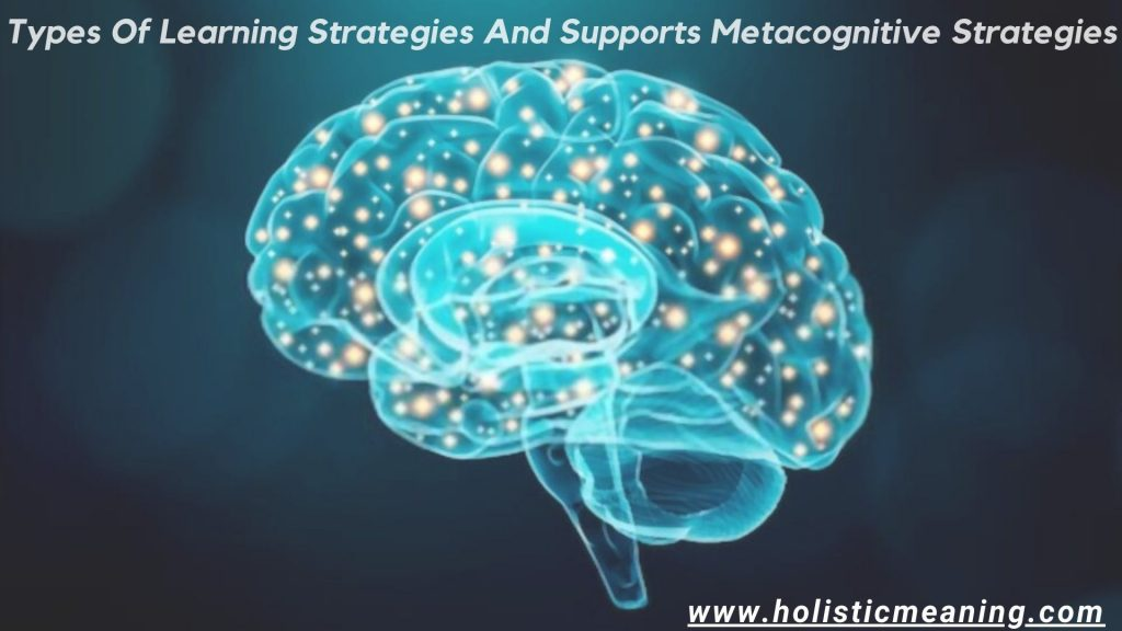 Types Of Learning Strategies And Supports Metacognitive Strategies