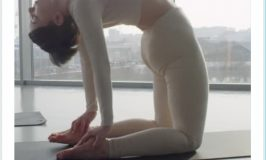 Camel Pose Yoga Abs Exercises
