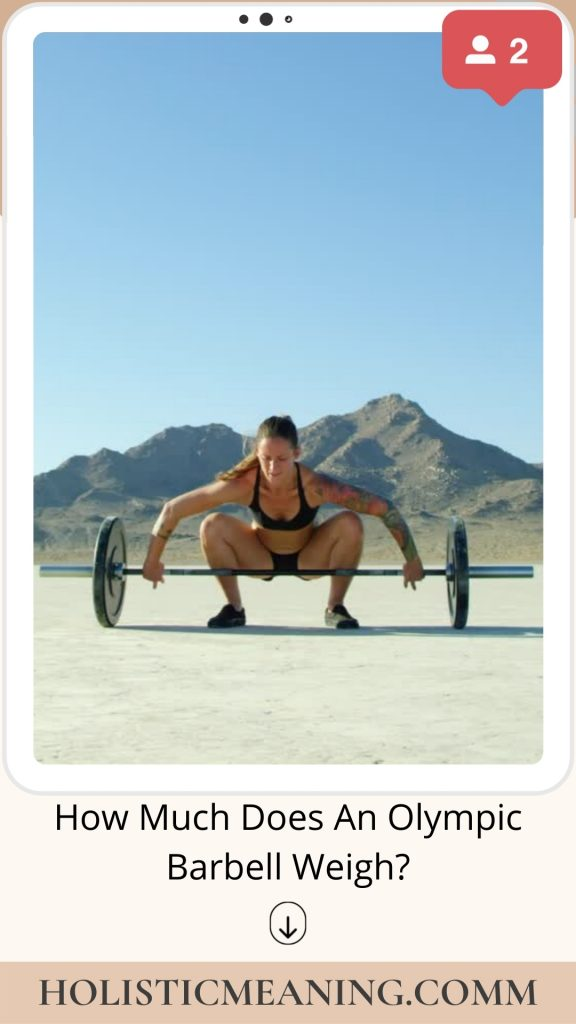 How Much Does An Olympic Barbell Weigh?