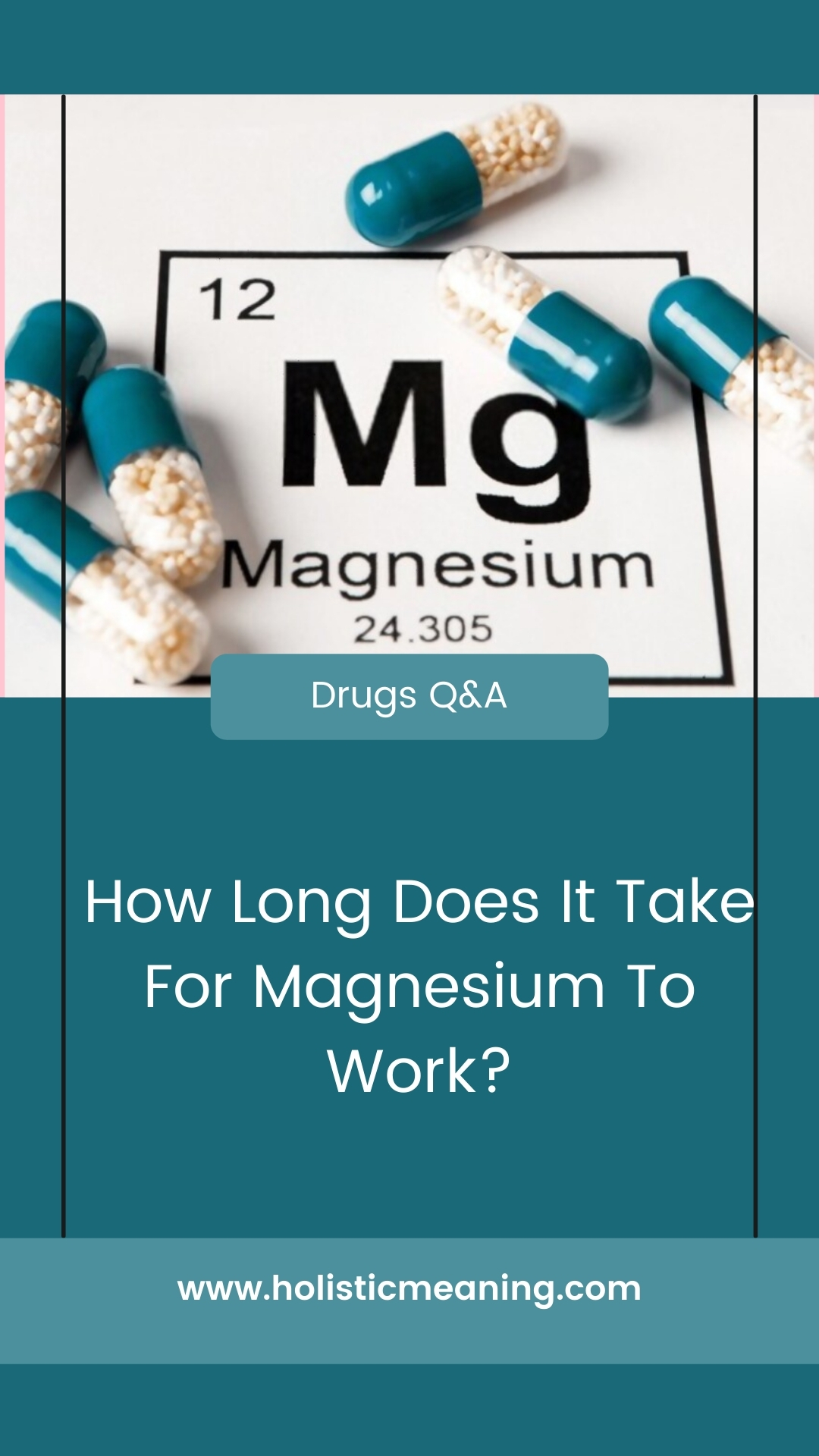 How Long Does It Take For Magnesium To Work?